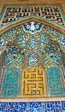 Het mozaïek van de tegel, Iran Stock Foto's