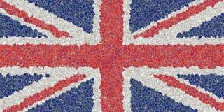 Het mozaïek van het Verenigd Koninkrijk royalty-vrije stock foto