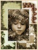Het mozaïek van Kerstmis Royalty-vrije Stock Afbeelding