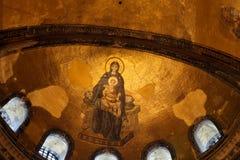 Het Mozaïek van Sophia van Hagia Stock Foto's