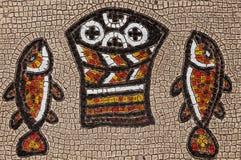 Het mozaïek van Tabgha Royalty-vrije Stock Fotografie