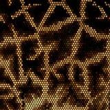 Het mozaïek vectorachtergrond van de giraf Royalty-vrije Stock Foto's
