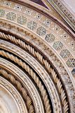 Het mozaïek werkt Detail Royalty-vrije Stock Afbeeldingen