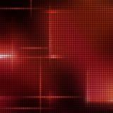 Het mozaïekachtergrond van het rood licht Royalty-vrije Stock Foto