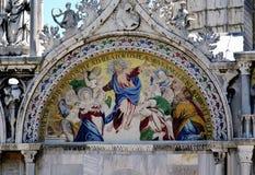 Het mozaïekdetail van Venetië Royalty-vrije Stock Afbeeldingen