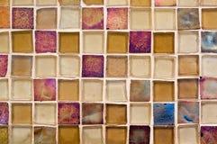 Het mozaïektegel van het glas stock afbeeldingen