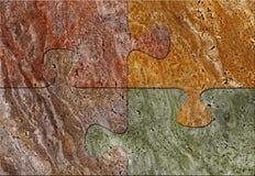 Het mozaïektextuur van het raadsel Royalty-vrije Stock Afbeelding