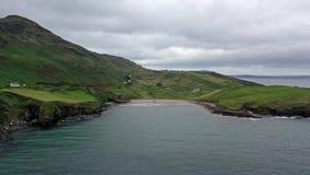 Het Mucrosshoofd is een klein schiereiland over 10km ten westen van Killybegs in Provincie Donegal in noordwestenierland en bevat stock footage