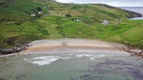 Het Mucrosshoofd is een klein schiereiland over 10km ten westen van Killybegs in Provincie Donegal in noordwestenierland en bevat stock videobeelden