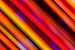 Het Multicolored Lichte Schilderen Royalty-vrije Stock Foto
