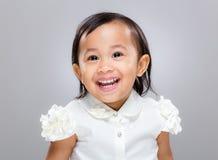 Het multiraciale Meisje van de Baby Royalty-vrije Stock Foto's
