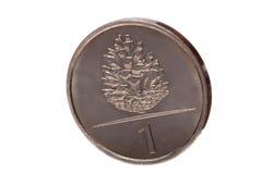 Het muntstuk van de kegel Royalty-vrije Stock Fotografie