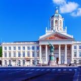 Het Museum en Godefoid DE Bouillon, Brussel van de kunst Royalty-vrije Stock Afbeeldingen