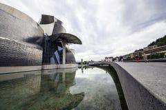 Het Museum Guggenheim Bilbao Stock Foto