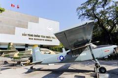 Het Museum Ho Chi Minh City Vietnam van oorlogsresten Stock Foto