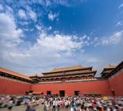 Het museum hoogste poort van het paleis Royalty-vrije Stock Fotografie