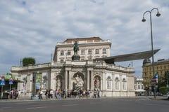 Het museum van Albertina in Wenen royalty-vrije stock afbeeldingen