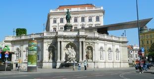 Het museum van Albertina, Wenen, Oostenrijk Stock Foto's