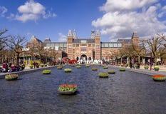 Het Museum van Amsterdam Rijks Stock Afbeelding