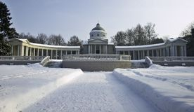Het museum van Archangelskoye. royalty-vrije stock afbeelding