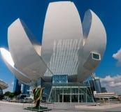 Het Museum van ArtScience Stock Foto's