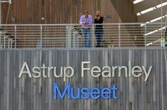 Het Museum van Astrupfearnley van Modern Art. Royalty-vrije Stock Foto's