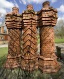 Het Museum van Avoncroft van Historische Gebouwen Bromsgrove Worcestershire Royalty-vrije Stock Afbeeldingen