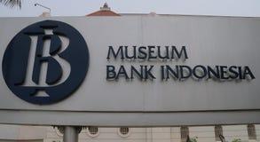 Het Museum van bankindonesië stock foto's