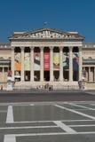 Het museum van beeldende kunsten in Boedapest Stock Fotografie