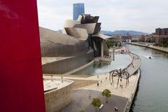 Het Museum van Bilbao Guggenheim stock fotografie