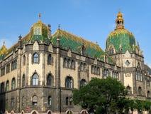 Het Museum van Boedapest Stock Foto