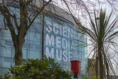 Het museum van Bradford door de critici wordt toegejuicht die royalty-vrije stock afbeelding