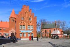 Het museum van de Baltische Heilige Vloot en overzeese kathedraal en van St George stock afbeelding
