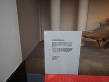 Het Museum van de Biologie in Londen royalty-vrije stock foto