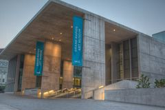 Het Museum van de Kunst van Grand Rapids Stock Foto's