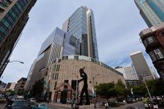 Het Museum van de Kunst van Seattle Stock Afbeeldingen