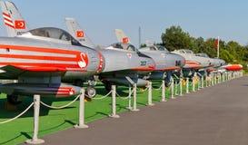 Het Museum van de Luchtvaart van Istanboel Stock Foto's