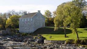 Het Museum van de McDougallmolen - Renfrew, Ontario Stock Foto