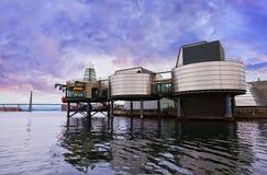 Het Museum van de olieindustrie in Stavanger - Noorwegen royalty-vrije stock fotografie