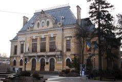 Het museum van de provincie in Botosani royalty-vrije stock afbeelding