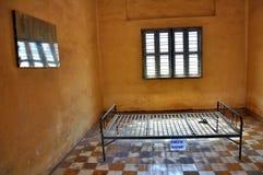 Het Museum van de Volkerenmoord van Sleng van Tuol, Phnom Penh, Kambodja Royalty-vrije Stock Fotografie