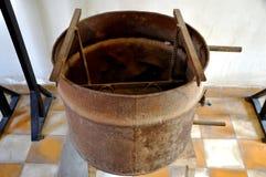 Het Museum van de Volkerenmoord van Sleng van Tuol, Phnom Penh, Kambodja Stock Foto