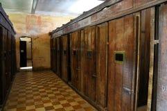Het Museum van de Volkerenmoord van Sleng van Tuol, Phnom Penh, Kambodja Stock Afbeelding