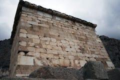 Het museum van Delphi Griekenland Stock Afbeeldingen