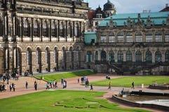 Het Museum van Dresden Zwinger Stock Afbeeldingen