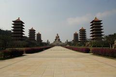 Het museum van FO Guang Shan Buddha stock foto