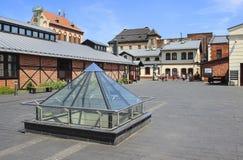 Het Museum van Gemeentelijke Techniek in Krakau, Polen Stock Fotografie