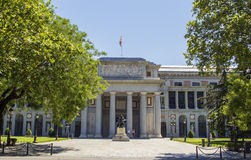 Het Museum van Gr Prado Stock Fotografie