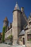 Het Museum van Gruuthuse, Brugge, België Stock Foto's