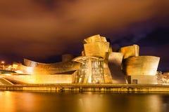 Het museum van Guggenheim Stock Foto